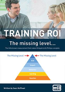 Training ROI The missing level
